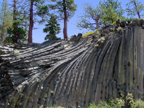 Devil's Postpile, California